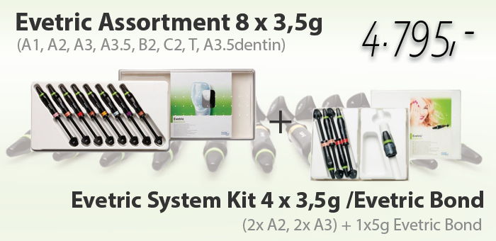 Evetric system kit + Evetric assortment