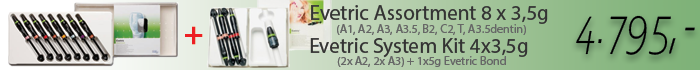 Evetric system kit + Evetric assortment Akce
