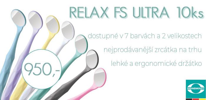Křišťálové zrcátka, zirkonové, Ultra FS, Relax, hahnenkratt