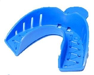 Plastová jednorázová otiskovací lžička dolní