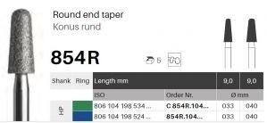 HP diamant - konus kulatý - 854R