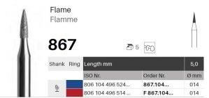 HP diamant - plamínek - 867