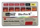 Dia-ProR   speciální milimetrově značené gutaperčové čepy, bal. 60 ks (40xR25, 10xR40, 10xR50)