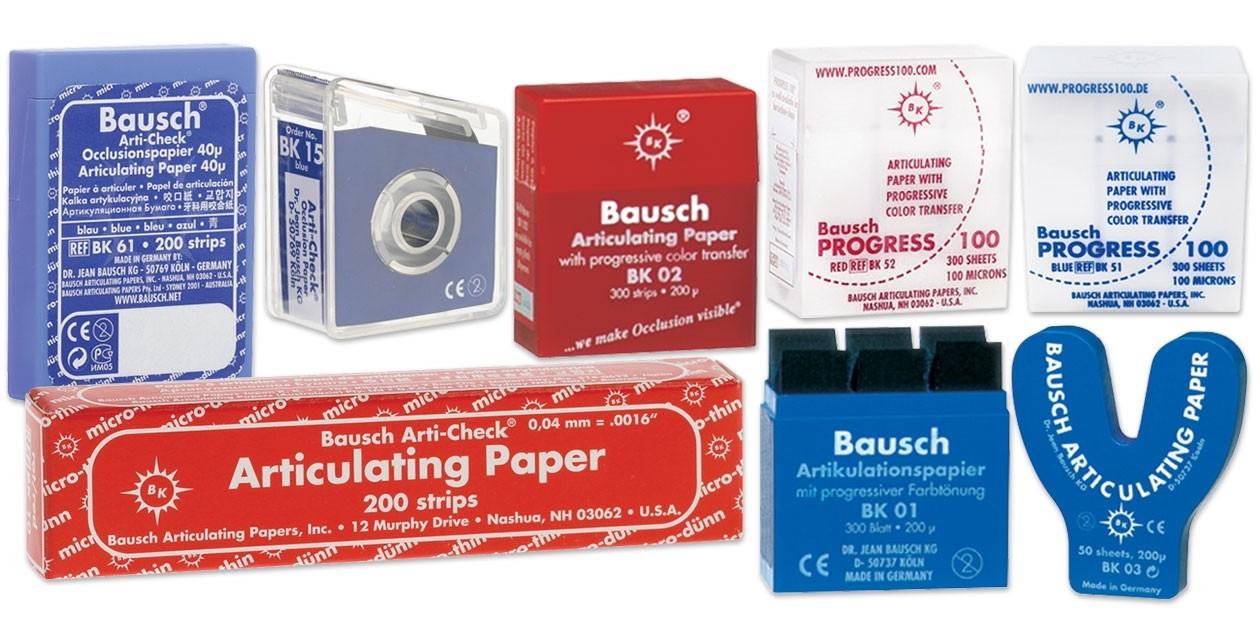 Artikulační papír BAUSCH