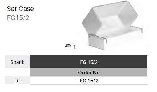 Box na vrtáčky FG - 15 ks