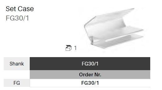 Box na vrtáčky FG - 30 ks