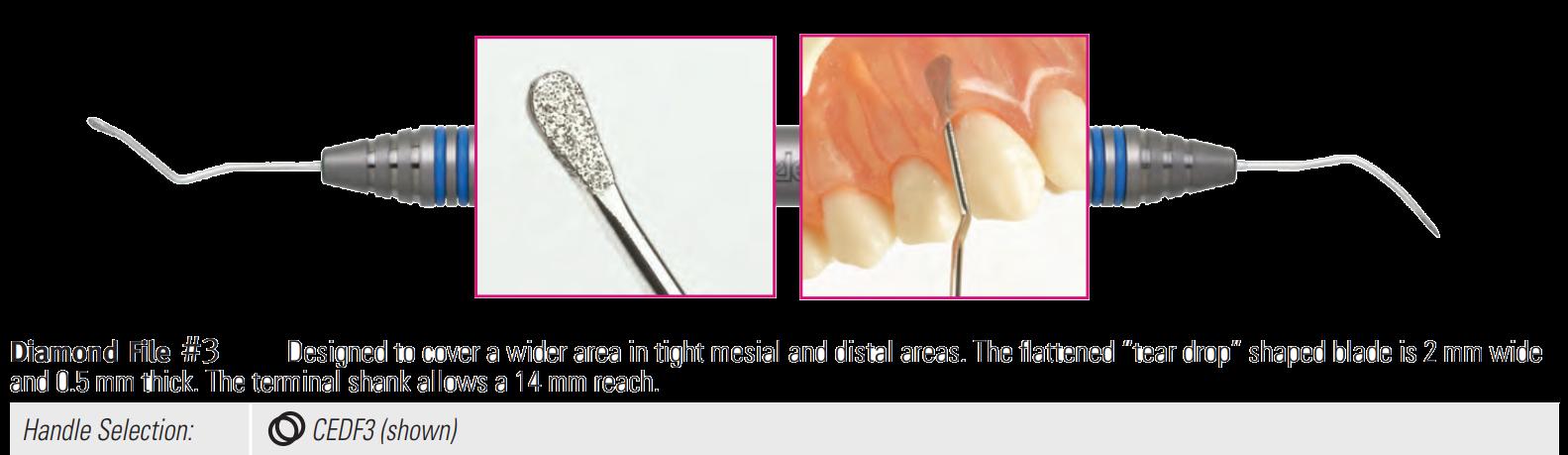 Diamantový furkační pilníček #3