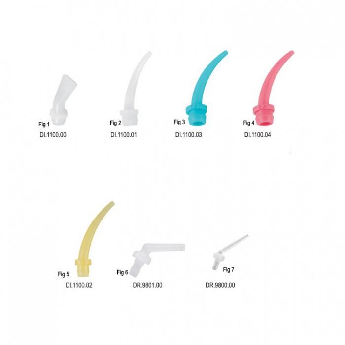 Míchací koncovky - tipy- náhradní balení 50ks
