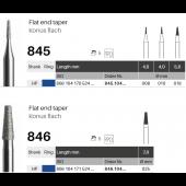 HP diamant - konus plochý - 845/846