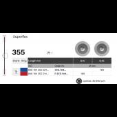 Diamantové disky Superflex 355