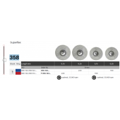 Diamantové disky Superflex 358