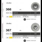 Diamantové disky Ultraflex 366 a 367
