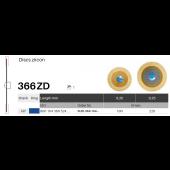 Disky na zirkon 366ZD