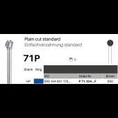 Frézky Plain Cut - standard