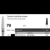 Frézky Titanium toothing - hrubé