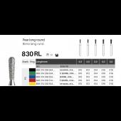 FG diamant - hruška dlouhá kulatá 830RL - 5 ks