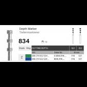 Nástroj pro určení hloubky preparace 834 - 5 ks