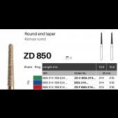 ZD diamant na zirkon oxid - 850 konus kulatý - 5 ks