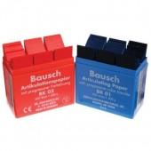 Bausch 200µ rovný modrý 300 ks BK01 + dispenser
