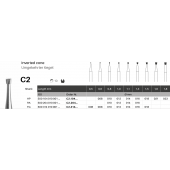Tvrdokovový vrtáček - C2 - kuželík