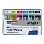 Papírové čepy diadent 15-80 .02 200ks