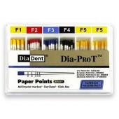 Dia-ProT -  speciální milimetrově značené papírové čepy, bal. 100 ks