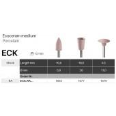 Leštící nástroje Ecoceram - střední