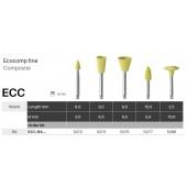 Leštící nástroje Ecocomp - jemný