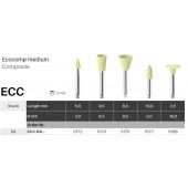 Leštící nástroje Ecocomp - střední