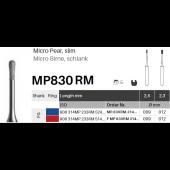 Diamant - Mikro hruška úzká- MP830 RM