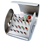 PoliTool Ceram růžový disk MEDIUM 1ks