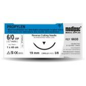 Propylen - USP 7/0, EP 0.5, jehla 3/8