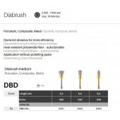 Rotační kartáčky Diabrush střední - RA