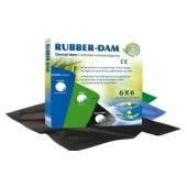 Rubber-Dam 36ks medium 0,18mm černý