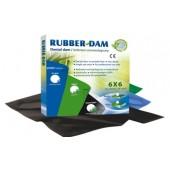 Rubber-Dam 36ks medium 0,18mm černý 5+1 ZDARMA