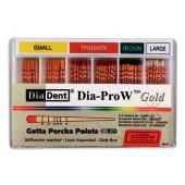 Dia-ProW - gutaperčové čepy pro Wave One Gold