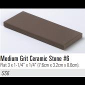 Středně hrubý keramický kámen #6