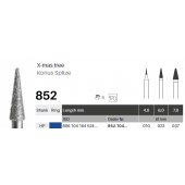 HP diamant - konus špičatý - 852