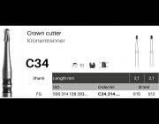 Rozřezávač korunek C34 - FG