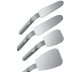 Zrcadlo FS Rhodium jednostranné s rukojetí