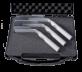 Plastový kufřík na tři zrcadla s rukojetí 285x240x100mm